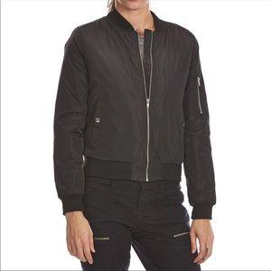 Ambiance Black Bomber Jacket